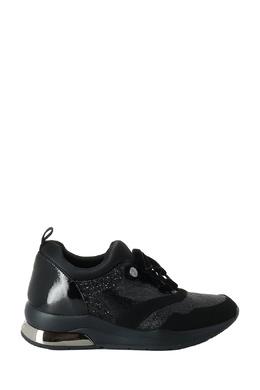 Комбинированные черные кроссовки с глиттером Liu Jo 1776167489