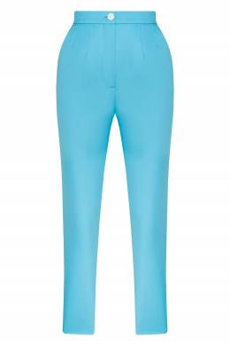 Укороченные бирюзовые брюки Natasha Zinko 1529166367