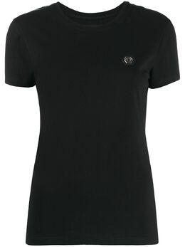Philipp Plein футболка с логотипом A19CWTK1717PTE003N