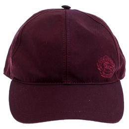 Burberry Burgundy Fabric Boysenberry Cap 246573