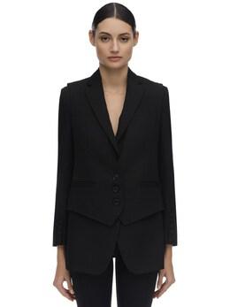 Wool Tuxedo Blazer Burberry 71IXFL008-UDg0MDA40