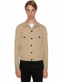 Casual Cotton Twill Jacket Dsquared2 71IG7E126-MTE00