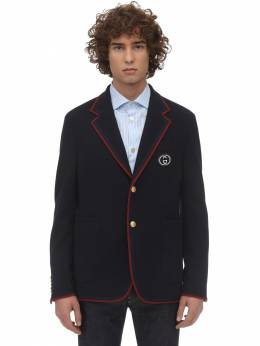 New Wool & Cotton Jersey Jacket Gucci 71IH0K050-NDQ0MA2