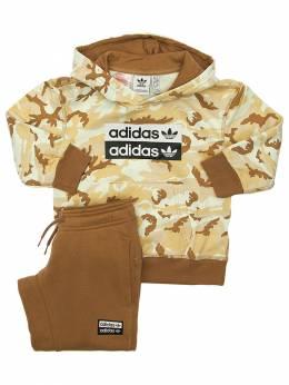 Свитшот И Брюки Из Смешанного Хлопка Adidas Originals 70I1VO017-TVVMVElDT0xPUg2