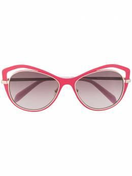 Emilio Pucci солнцезащитные очки в оправе 'бабочка' и эффектом градиента EP0130
