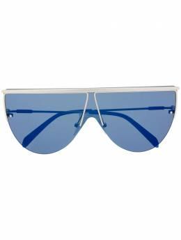 Emilio Pucci солнцезащитные очки в геометричной оправе EP0139