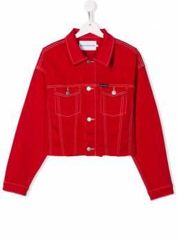 Calvin Klein Kids джинсовая куртка IG0IG00370