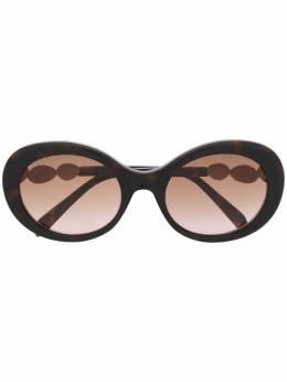 Emilio Pucci солнцезащитные очки в круглой оправе с затемненными стеклами EP0127