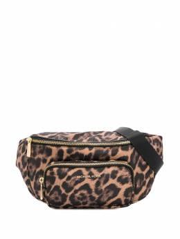 MICHAEL Michael Kors поясная сумка с леопардовым принтом 30F9GP0N2C