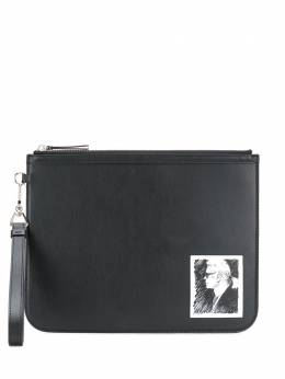 Karl Lagerfeld клатч Karl Legend с нашивкой 201W3259999