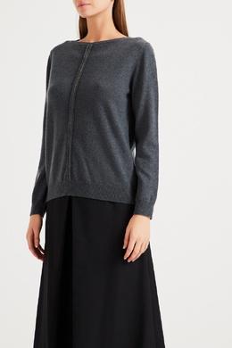 Серый кашемировый свитер Fabiana Filippi 2658167221