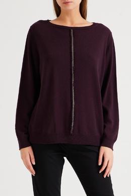 Фиолетовый свитер из кашемира Fabiana Filippi 2658167182