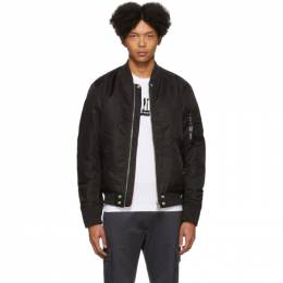 Diesel Reversible Black J-Ross-Rev Bomber Jacket 201001M17502307GB