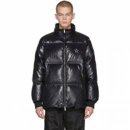 Valentino Black VLTN Star Down Jacket 201476M17803503GB