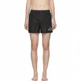 Valentino Black VLTN Star Swim Shorts 201476M20805305GB