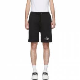Valentino Black VLTN Star Jersey Shorts 201476M19303804GB