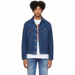 Diesel Blue Denim Hill-Ne Jacket 201001M17704505GB