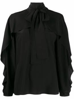 Red Valentino блузка с бантом TR3ABB2023H