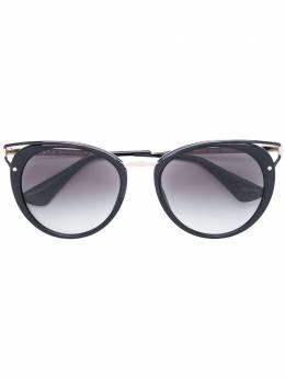 """Prada Eyewear солнцезащитные очки с оправой """"кошачий глаз"""" SPR66T"""