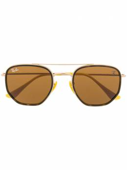 Ray Ban солнцезащитные очки-авиаторы Scuderia Ferrari 0RB3748MF0343352