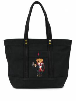 Polo Ralph Lauren сумка-тоут с вышивкой 428769010001