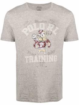Polo Ralph Lauren футболка с принтом Bulldog 710782369