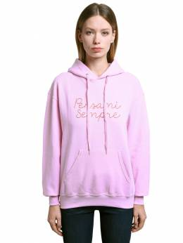 Pensami Sempre Embroidered Hoodie Giada Benincasa 71IWPM013-RlA40