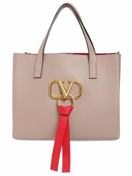 Small V Ring E/w Leather Tote Bag Valentino 71IW94023-UDQ10