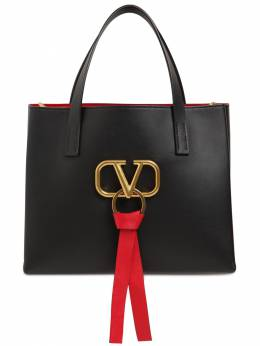 Small V Ring E/w Leather Tote Bag Valentino 71IW94023-ME5P0
