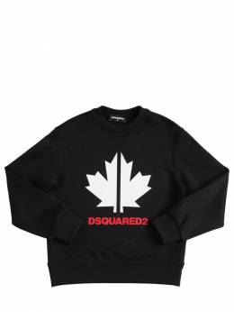 Logo Print Triacetate Sweatshirt Dsquared2 71ILX0003-RFE5MEo1