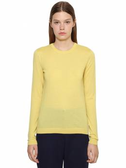 Pure Cashmere Knit Crewneck Sweater Ralph Lauren Collection 71IKOQ030-MDg50