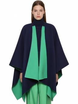 Reversible Wool Cape Ralph Lauren Collection 71IKOQ018-MDAx0