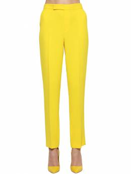 Cropped Straight Leg Crepe Cady Pants Ralph Lauren Collection 71IKOQ016-MDAx0