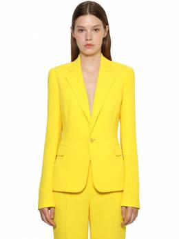 Cady Crepe Fitted Jacket Ralph Lauren Collection 71IKOQ014-MDAx0