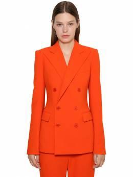 Df Wool Blend Crepe Jacket Ralph Lauren Collection 71IKOQ012-MDAx0