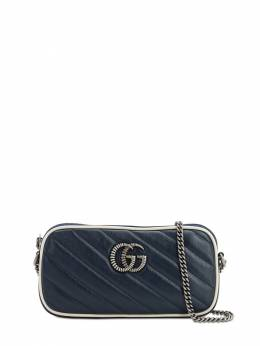 Gg Marmont 2.0 Leather Shoulder Bag Gucci 71IIJS049-NDE4Ng2