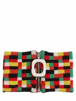 Multicolor Wool Knit Neckband J.W. Anderson 71IIJ6020-MDAw0
