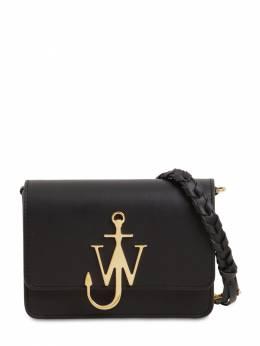 Anchor Logo Leather Bag W/braided Strap J.W. Anderson 71IIJ6008-OTk50