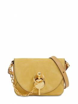 Nano Keyts Suede & Leather Shoulder Bag J.W. Anderson 71IIJ6006-MTg20