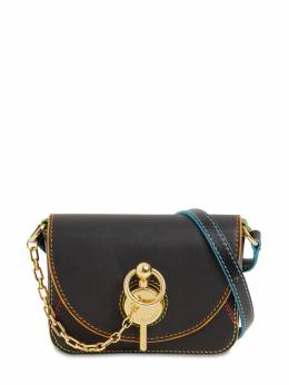 Nano Keyts Leather Shoulder Bag J.W. Anderson 71IIJ6004-OTk50