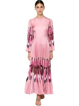 Платье Из Шелка Спринтом Valentino 71I52O033-Uk9T0