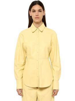 Xiao Leather Shirt Isabel Marant 71I1JT004-MTBMWQ2