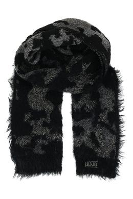 Черный шарф с люрексом Liu Jo 1776168260