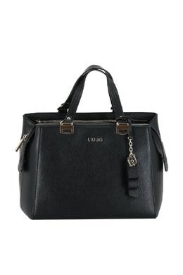 Черная прямоугольная сумка из кожи Liu Jo 1776168331