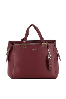 Бордовая сумка из гладкой кожи Liu Jo 1776168330