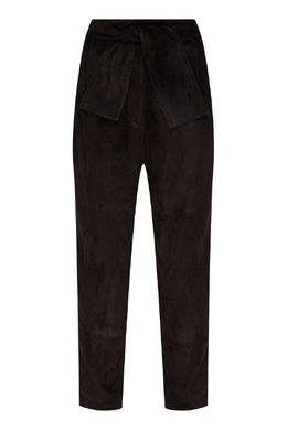 Черные замшевые брюки Espionage Zimmermann 1411167423