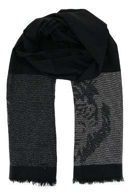 Черный шарф с тигром Liu Jo 1776168298