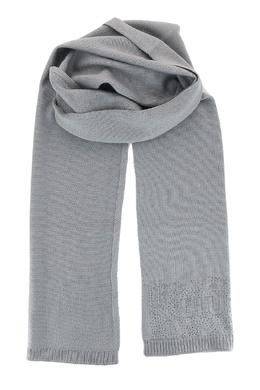 Светло-серый шарф со стразами Liu Jo 1776168125