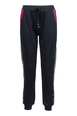 Черные спортивные брюки с лампасами Liu Jo 1776168485