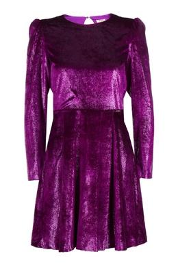 Фиолетовое платье с вырезом на спине Liu Jo 1776168405